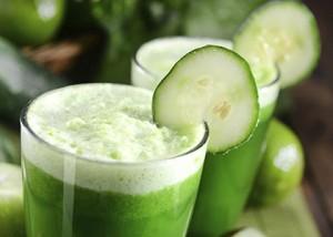 Celery-Cucumer Smoothie